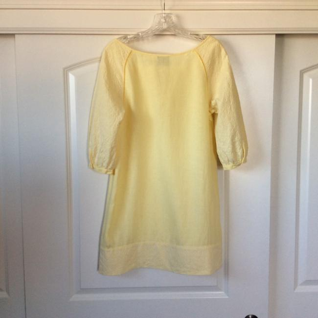 Juicy Couture short dress Bright, yet pale yellow on Tradesy Image 2