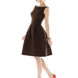 Dessy Brown Chocolate Mother Of Bride's Bridesmaids Dress New Dress