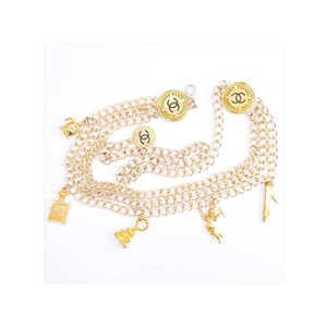 Chanel Vintage Rue Cambon Icon Charm Belt