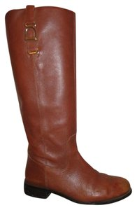 Banana Republic Leather Riding British tan Boots