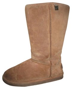 Bearpaw Suede Sheepskin Wool brown Boots