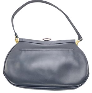 Dofan France French Navy Vintage Blue Clutch