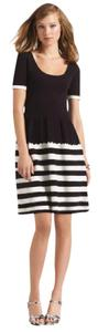 Kate Spade Striped Knit Sweater Belted Stripe Dress