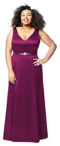 Dessy Full Length Sleeveless Special Occasion Mother Of The Bride Dress