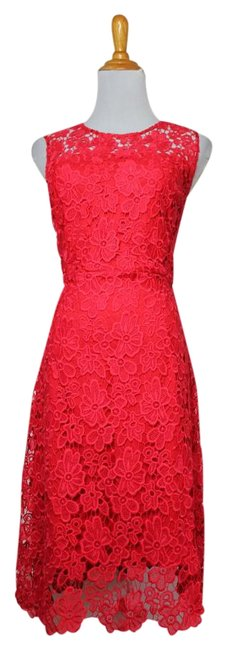 Preload https://img-static.tradesy.com/item/20527365/elie-tahari-coral-sunset-new-tags-lace-floral-sleeveless-short-cocktail-dress-size-6-s-0-6-650-650.jpg