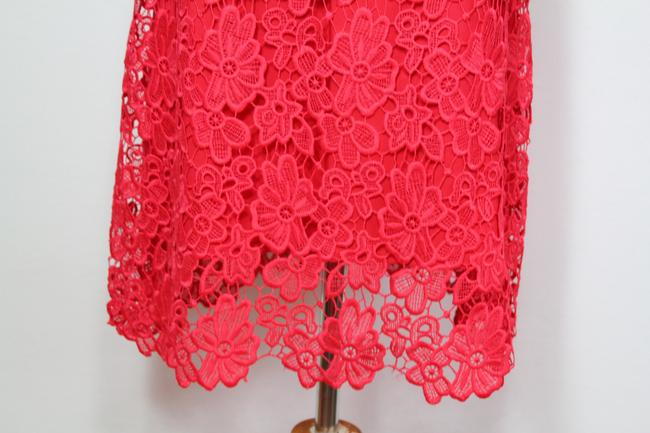 Elie Tahari Night Out Party Lace Floral Bright Dress Image 5