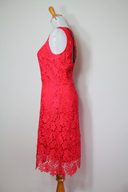 Elie Tahari Night Out Party Lace Floral Bright Dress Image 6
