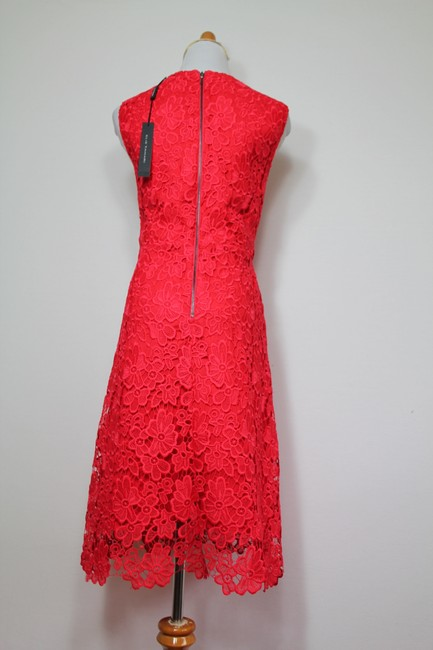 Elie Tahari Night Out Party Lace Floral Bright Dress Image 7