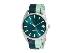 Lacoste Lacoste 2000924 Malaga Green Fabric Strap Sport Watch