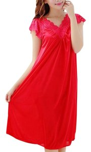 Other short dress RED Night Gown Night Gown L-2xl on Tradesy