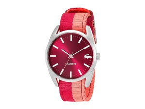 Lacoste Lacoste 2000926 Malaga Red Fabric Strap Sport Watch