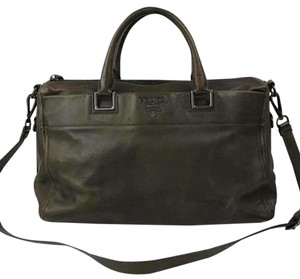 Prada Tote in olive green
