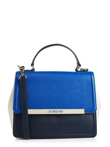 Love Moschino Moschino Sale Satchel in Blue