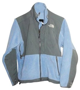 The North Face Polartec Ski Snowboard Hiking Blue & Gray Jacket