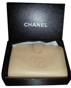 Chanel Wallet Italy Beige Clutch