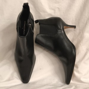 Donald J. Pliner New/nwt Leather Ankle Black Boots