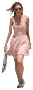 Foreign Exchange short dress PINK Skater Mesh Beach Summer Fit And Flare on Tradesy