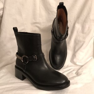 Coach New/nwt Biker/motorcycle Black Boots