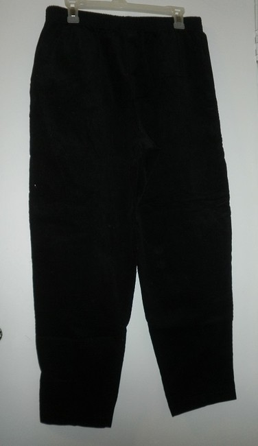 Old Broadway Garment Company Corduroy Comfortable Relaxed Pants black Image 1