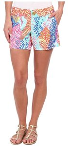 Lilly Pulitzer Mini/Short Shorts Multi Color
