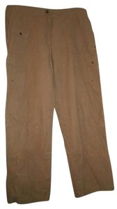 Ralph Lauren Comfortable Corduroy Relaxed Straight Pants beige
