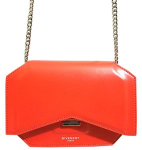 Givenchy Bow Cut Clutch Chain Wallet Cross Body Bag