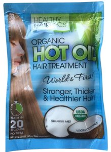 healthy hairpacs organic virgin coconut oil hair treatment mask