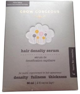 grow gorgeous hair density serum fuller thicker hair