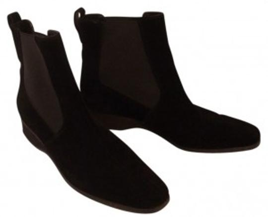 Preload https://item4.tradesy.com/images/salvatore-ferragamo-black-mint-boutique-suede-ankle-bootsbooties-size-us-85-narrow-aa-n-20528-0-0.jpg?width=440&height=440