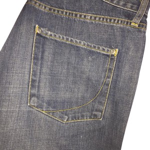 Paper Denim & Cloth Straight Leg Jeans-Distressed