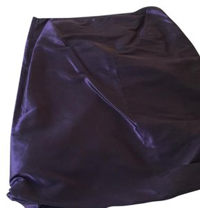 Pauw Amsterdam Skirt high sheen purple