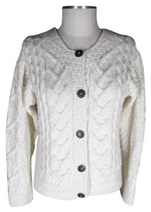 Carraig Donn Wood Buttons Ireland Irish Cardigan