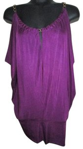 Forever 21 Knit Spring Top Purple
