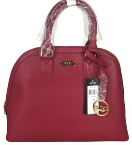 BCBG Paris Satchel in Dark Red