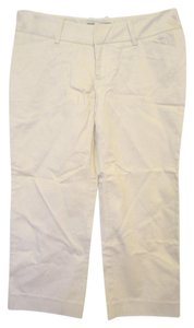 Mossimo Supply Co. Cropped Pants Casual Capris Khaki
