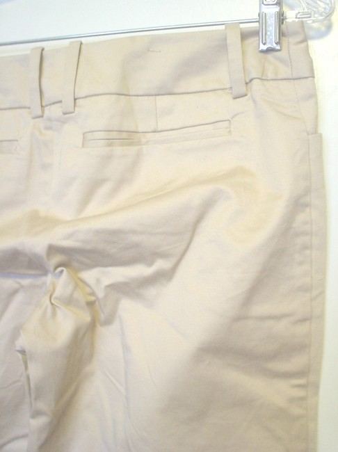 Mossimo Supply Co. Cropped Pants Casual Pants Size 2 Fit 3 Capris Khaki Image 3