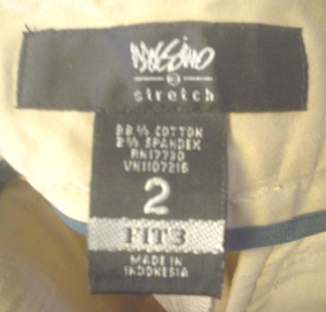 Mossimo Supply Co. Cropped Pants Casual Pants Size 2 Fit 3 Capris Khaki Image 4