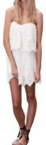 The Jetset Diaries short dress White Strapless Mini Bride Bachelorette on Tradesy