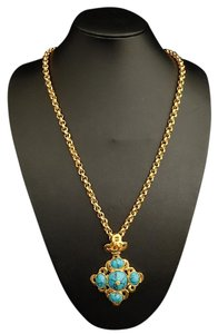 Chanel Chanel Vintage Turquoise Necklace