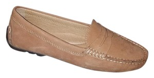 Ralph Lauren Couture Brown Leather Flats