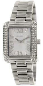Michael Kors Michael Kors Women's Emery Silver Stainless-Steel Quartz Watch by Michael Kors