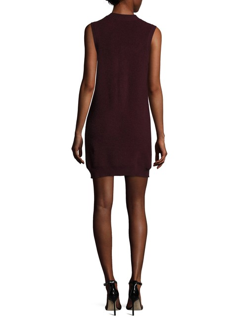 Qi Cashmere short dress Wine on Tradesy Image 1