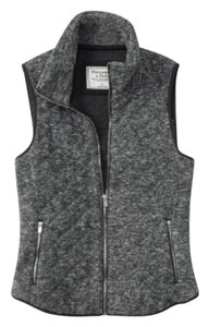 Abercrombie & Fitch Quilted Fleece Jacket Vest