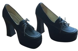 Fashion Bug black Platforms