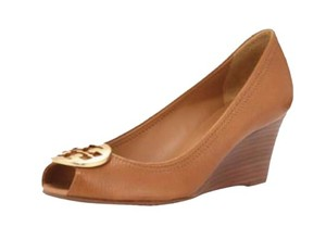 Tory Burch Wedge Royal Tan Wedges