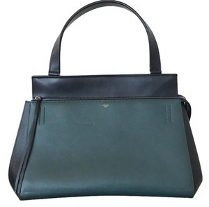 Cline Tote in Green/Black