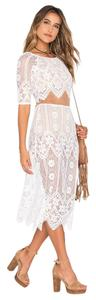 White Maxi Dress by For Love & Lemons