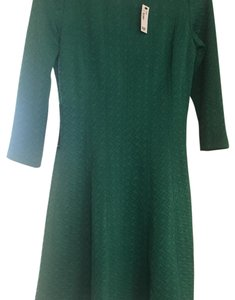 The Limited short dress Green on Tradesy