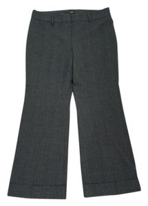 Ann Taylor Relaxed Fit Leg Trouser Pants Gray