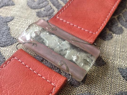 Vintage Stone and leather